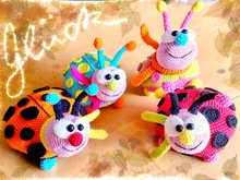 Ladybug´s - Crochet Pattern english