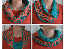 Reversible Diamond Cowl Scarflette