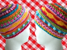 Hat Cap Crochet Pattern 2 sizes Baby Toddler
