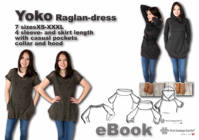 Us Yoko Pdf E Book Sewing Instruction With Patterns For Jersey
