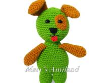 Freddy Puppy The Ami - Amigurumi Crochet Pattern