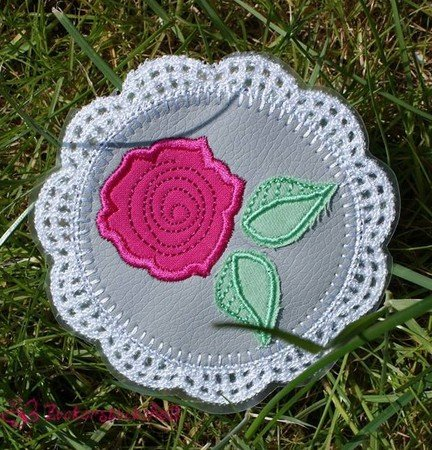 Crochet Roses 10x10 ith Stickdatei