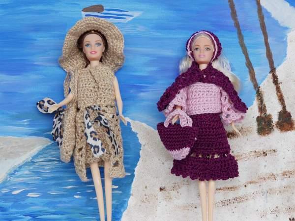 Häkelanleitung Puppenkleidung 10 Teile