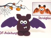 Crochet pattern Bat Halloween Autumn Amigurumi