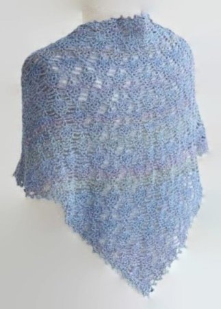 Crochet Lace Shawl Pattern Easy Year Round Wrap Pattern English Us