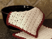 Single/Double Crochet Dishcloth - Free