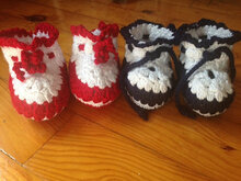 Crochet Pattern Baby shoes, Baby Booties, Pattern Instant Download Crochet, PDF,