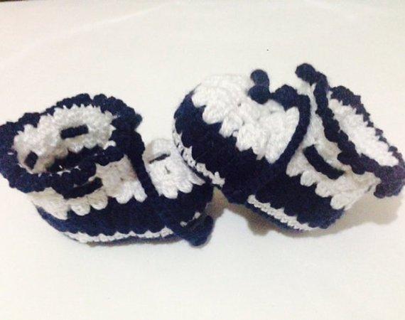 11d23b5008b795 Crochet Pattern Baby shoes