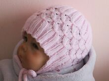 Baby Earflap Hat Knitting Pattern