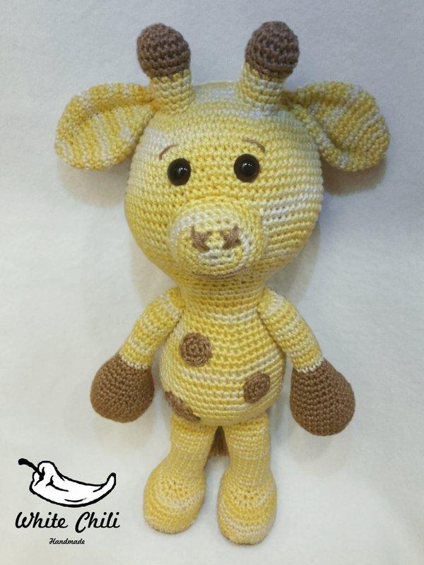 Amigurumi Giraffe Kostenlos : Giraffe hakeln // 31,5 cm gro? (stehend)