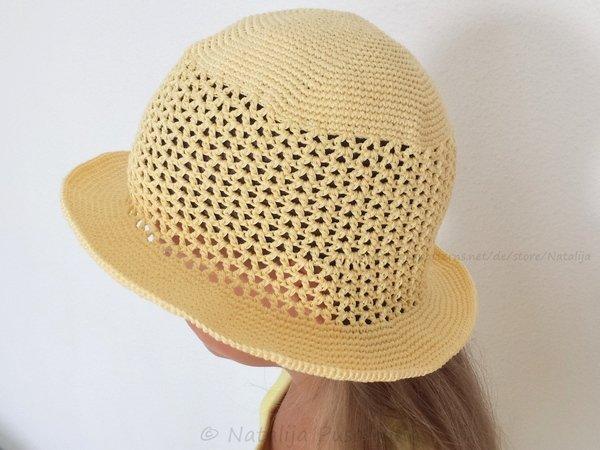Sommermütze // Hut für Babys + Mädels + Damen