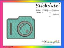 "Stickdatei ""Foto"" Pes Format (Deco, Brother, Babylock)"