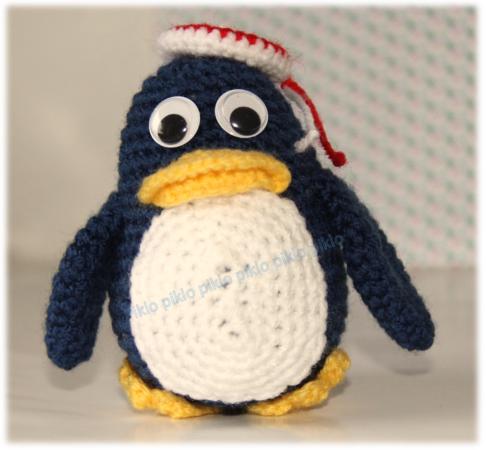 Häkelanleitung Pinguin Mit Hut Tiere Häkeln Auch Für Anfänger