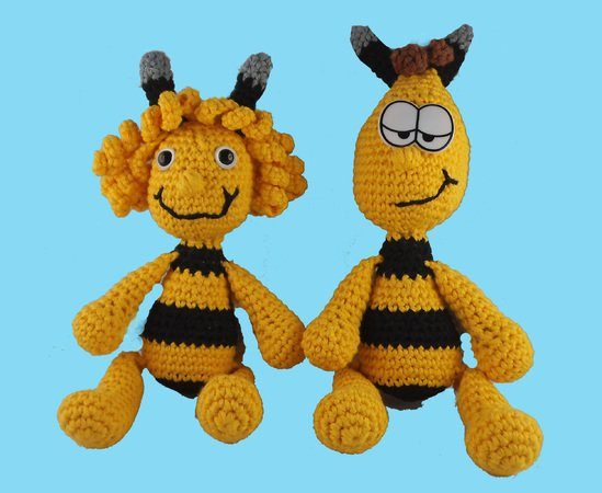 Bee Bee Maya e all'uncinetto Maya Willi e 80wvnmN
