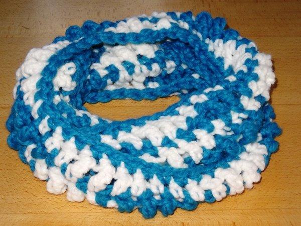 Loop Schal Loop Meeresrauschen Häkeln Für Anfänger