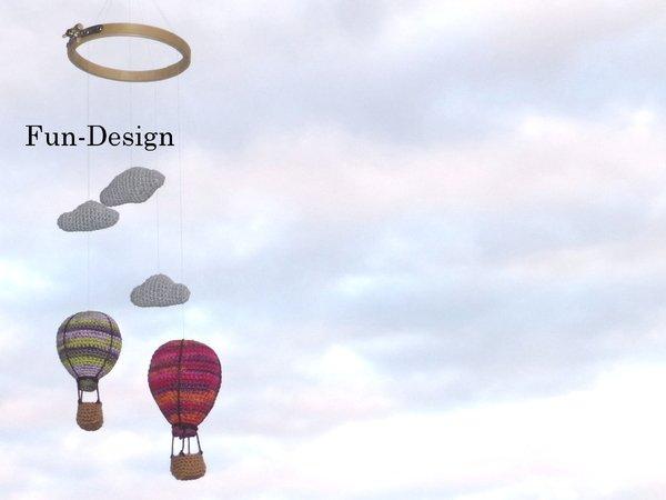 Mobile Heissluftballons Hakelanleitung