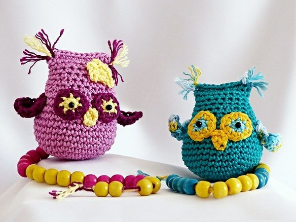 Mia, the math-loving owl - amigurumi crochet pattern