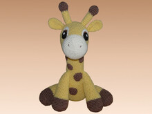 Crochet Pattern Kara the giraffe