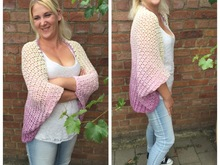 "Crochet pattern jacket ""Sweet Feelings"""