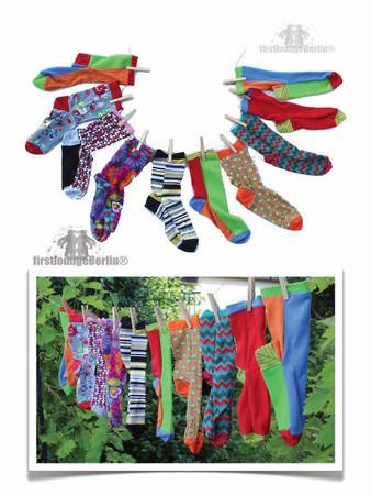 Cuddly Socks eBook PDF-Datei Nähanleitung inklusive Schnittmuster ...