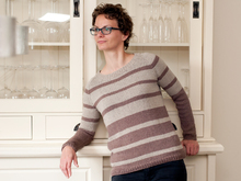Nele - Top down raglan sweater