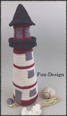 Leuchtturm Häkelanleitung