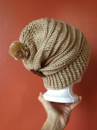 Crochet hat Caron pattern
