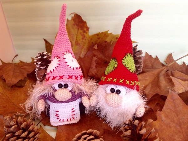 Crochet Pattern Imp Dwarf - Imp Fuzzybeard and Shaggy - English