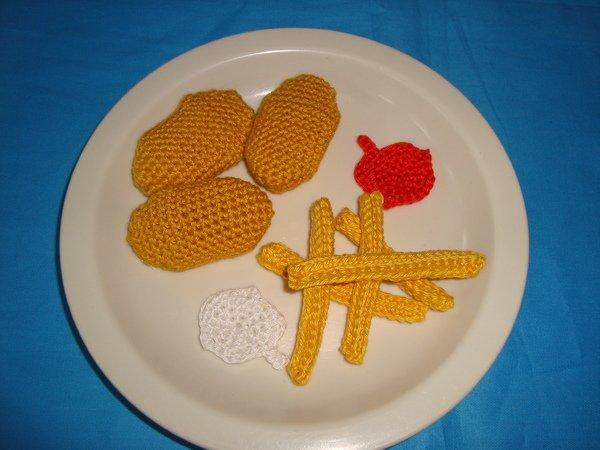 h kelanleitung pommes chicken nuggets mayo ketchup men f r die kinderk che. Black Bedroom Furniture Sets. Home Design Ideas
