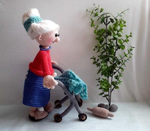 Oma häkeln // Großmutter // Puppe häkeln