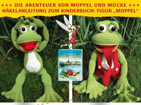 Frosch Häkeln Fröhlicher Kinderbuch Frosch