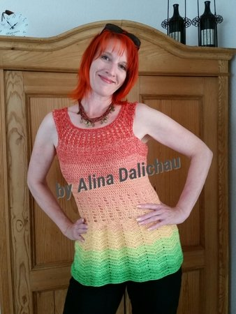 Tunika Häkeln Shirt Häkeln Auch Als Kleid