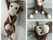 Crochet Pattern Monkey