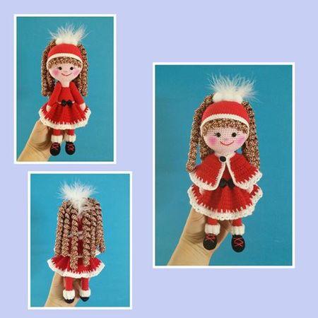 Anleitung Amigurumi Puppe Nikolinchen 22 Cm Groß