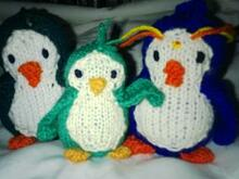 Penguin, knitting pattern