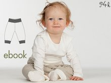 "Baby Pants Pattern, trousers, sweatpants for kids + babies, E-Book, tutorial, Sewing pattern, Instant Download, ""Lucca"" from Pattern4kids"