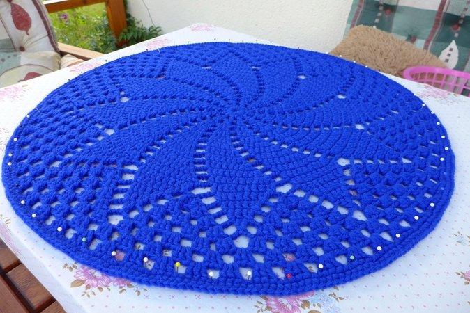 Teppich häkeln // auch für Anfänger machbar