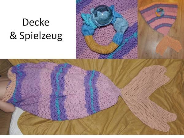 Meerjungfrau Decke Und Zauberstab Ring