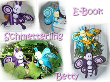 E-Book - Amigurumi - Schmetterling Betty - Häkelanleitung - Butterfly