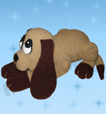 Crochet Pattern Shady the dog