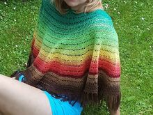 Crochet Pattern Summer Poncho