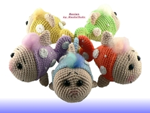 Crochet Stitches English Version : Fox Flori -- free crochet pattern by Haekelkeks -- english version