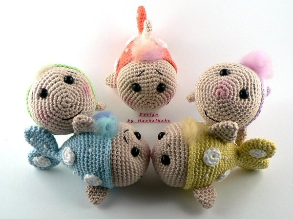 Fish -- crochet pattern by Haekelkeks -- english version