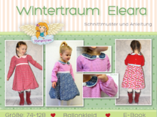 "E-Book Winterkleid ""Wintertraum"" Eleara von 74-128"