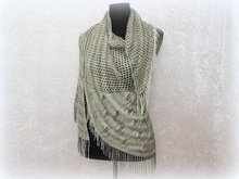 "Knitting pattern shawl, wrap ""Eryn"""