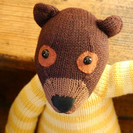 Teddy Carlos knitting pattern