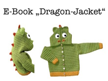 "E-Book ""Dragon-Jacket"" size newborn up to age 8 years"