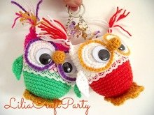 Crochet Pattern Owl