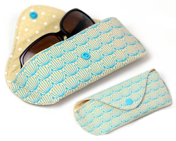 Nähanleitung Brillenetui Cleo | Sonnenbrille & Brille
