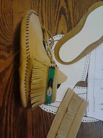 Size 9 Mens Moccasin Pattern Ankle
